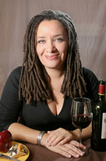 heather johnston, food and wine video blogger